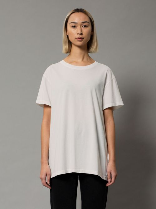 Nudie Jeans Tina Tee Offwhite T-shirts X Small