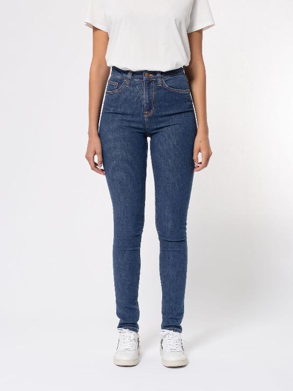 Nudie Jeans Hightop Tilde Light Navy Jeans W31/L30