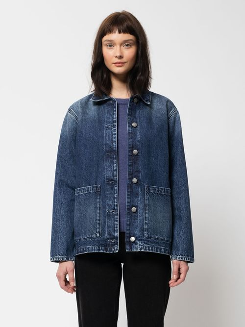 Nudie Jeans Nina Worker Jacket Denim Jackets X Small