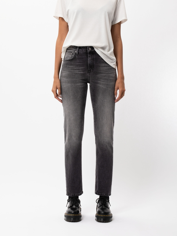 Nudie Jeans Straight Sally Midnight Rumble Jeans W24/L30