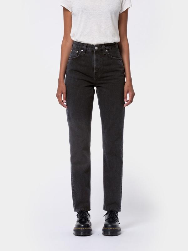 Nudie Jeans Breezy Britt Black Worn Jeans W24/L26