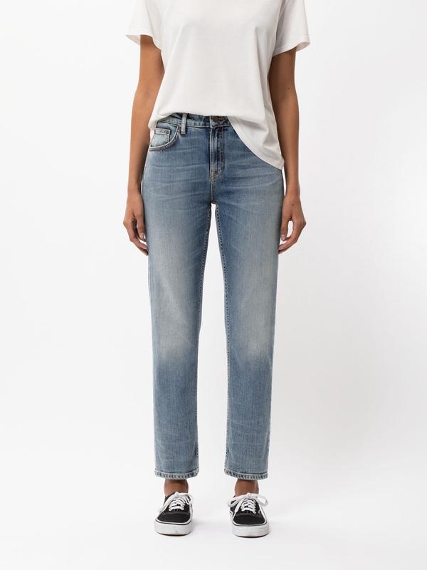 Nudie Jeans Straight Sally Blue Meadow Jeans W24/L26