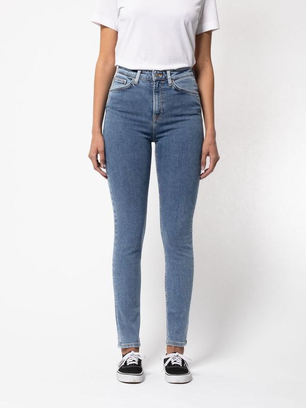 Nudie Jeans Hightop Tilde Blue Sun Jeans W32/L28