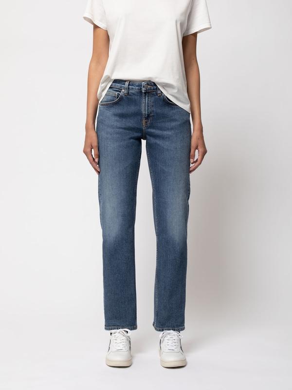 Nudie Jeans Straight Sally Dark Stone Jeans W24/L26