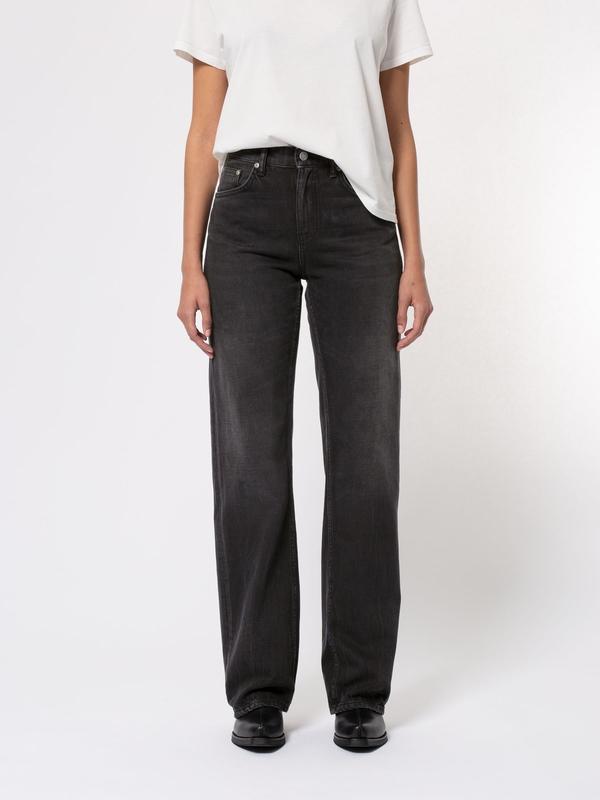 Nudie Jeans Clean Eileen Shimmering Black Jeans W25/L28