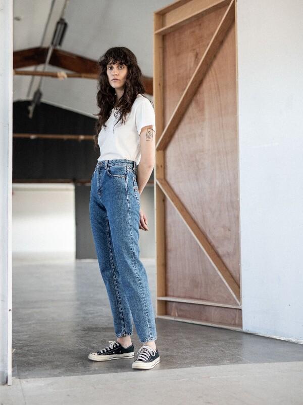 Nudie Jeans Breezy Britt Friendly Blue Jeans W24/L30