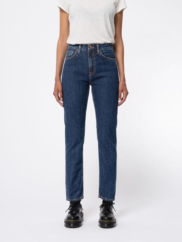 Nudie Jeans Breezy Britt Dark Stellar Jeans W26/L28
