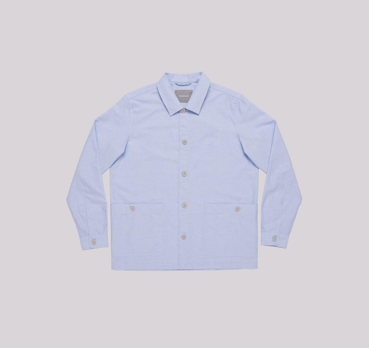 Organic Basics Organic Cotton Oxford Overshirt