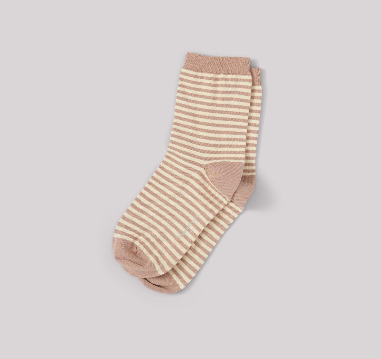 Organic Basics Organic Cotton Color Striped Socks