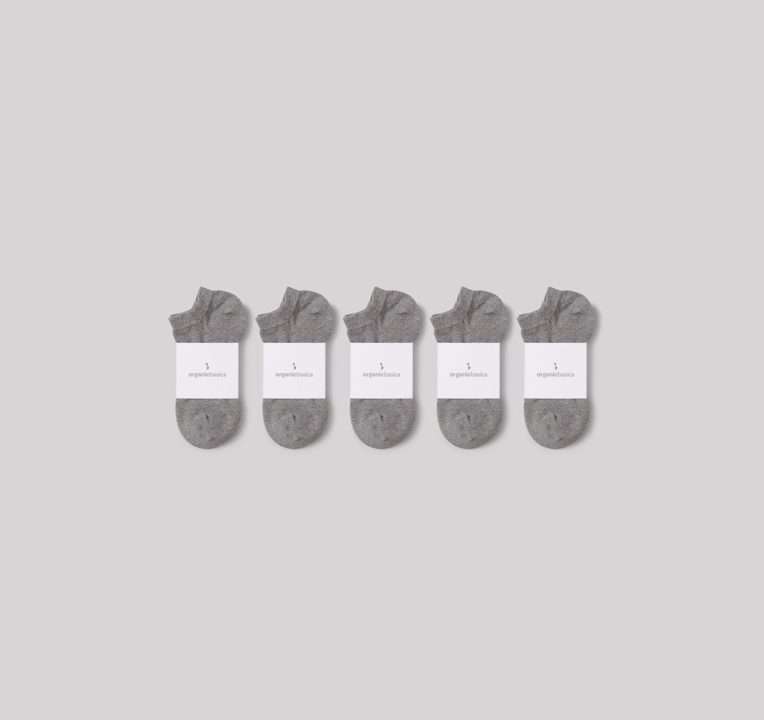 Organic Basics Organic Cotton Ankle Socks 10-pack