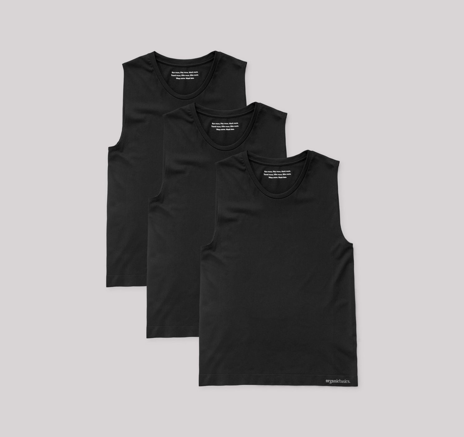 SilverTech™ Active Muscle Tank 3-pack