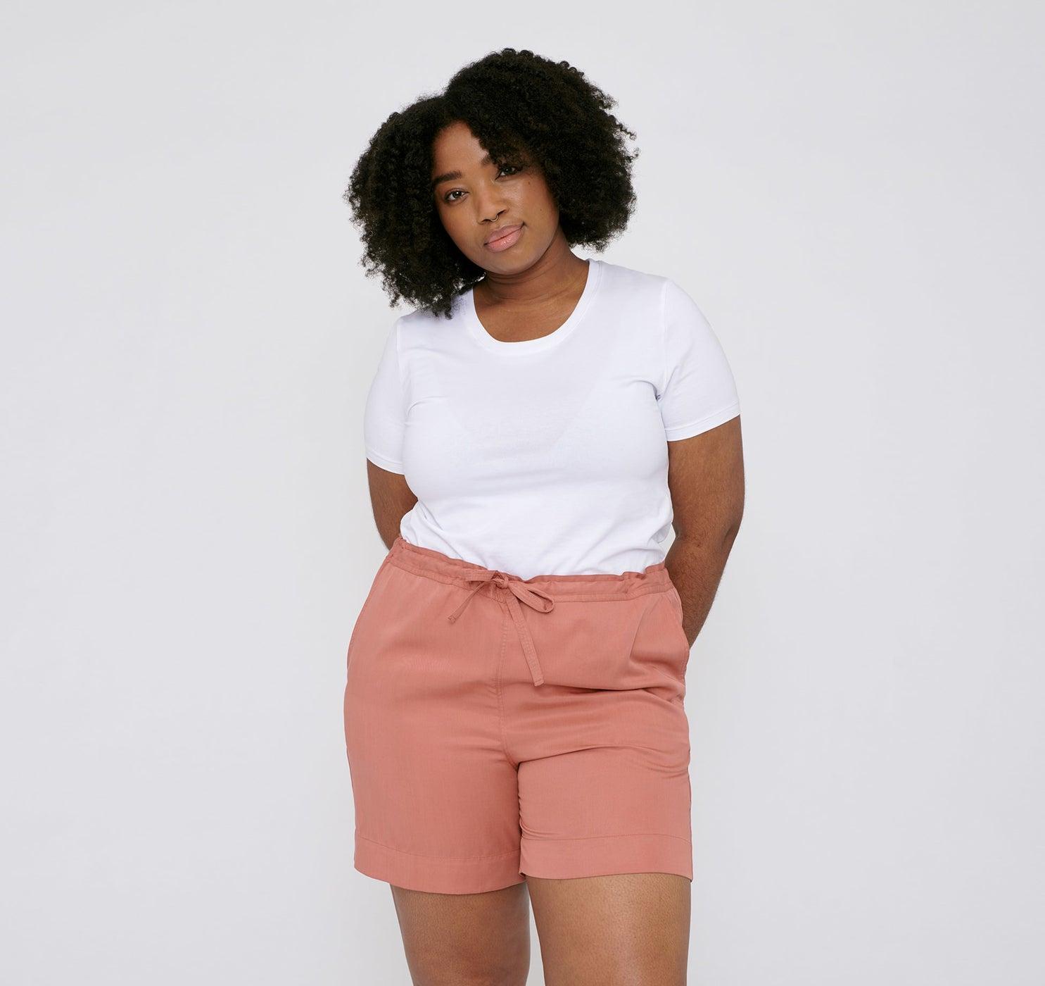 Organic Basics TENCEL™ Woven Draw-Cord Shorts