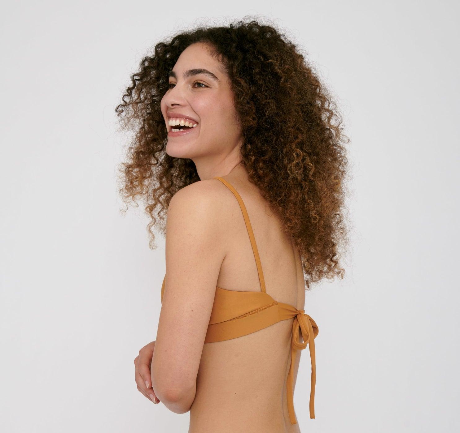 Organic Basics Re-Swim Bikini Top