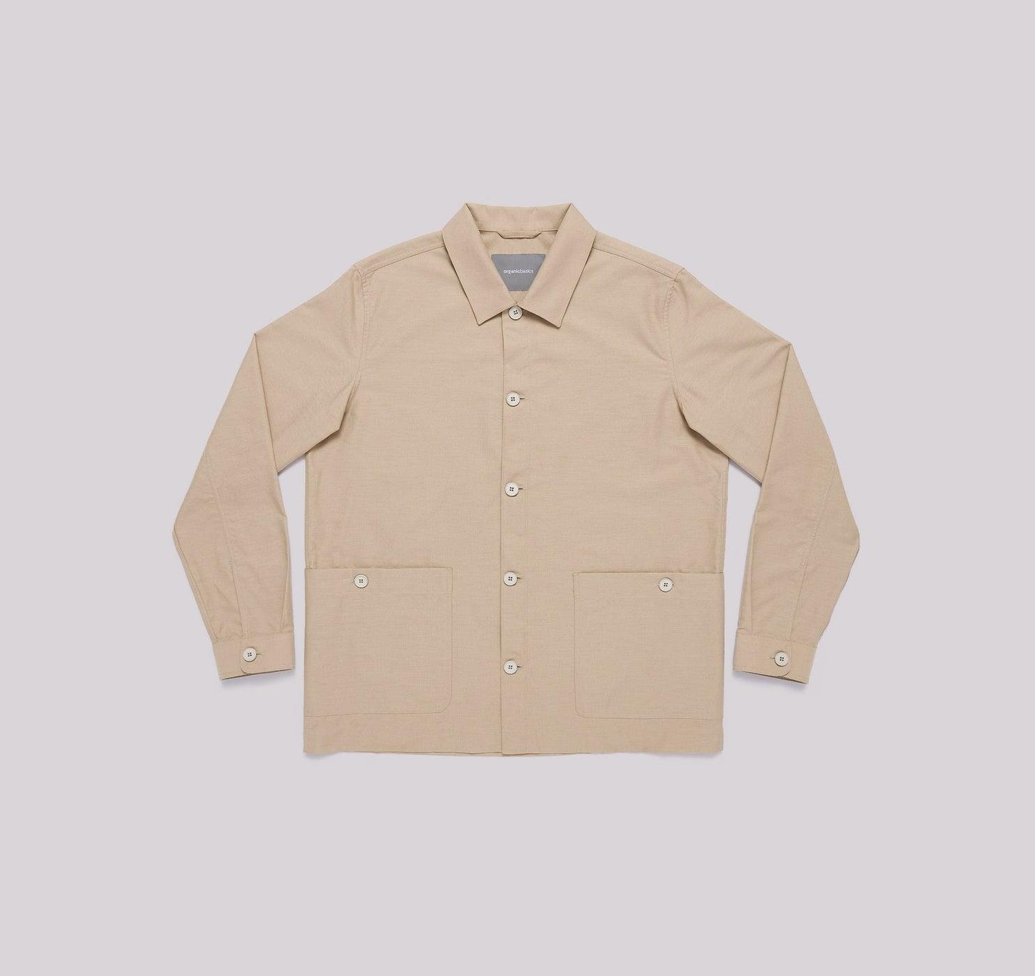 Organic Cotton Oxford Overshirt