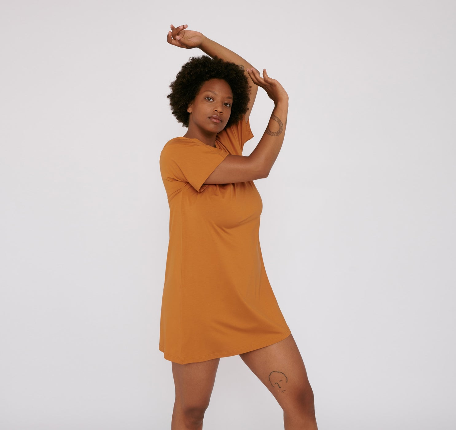 TENCEL™ Lite T-Shirt Dress