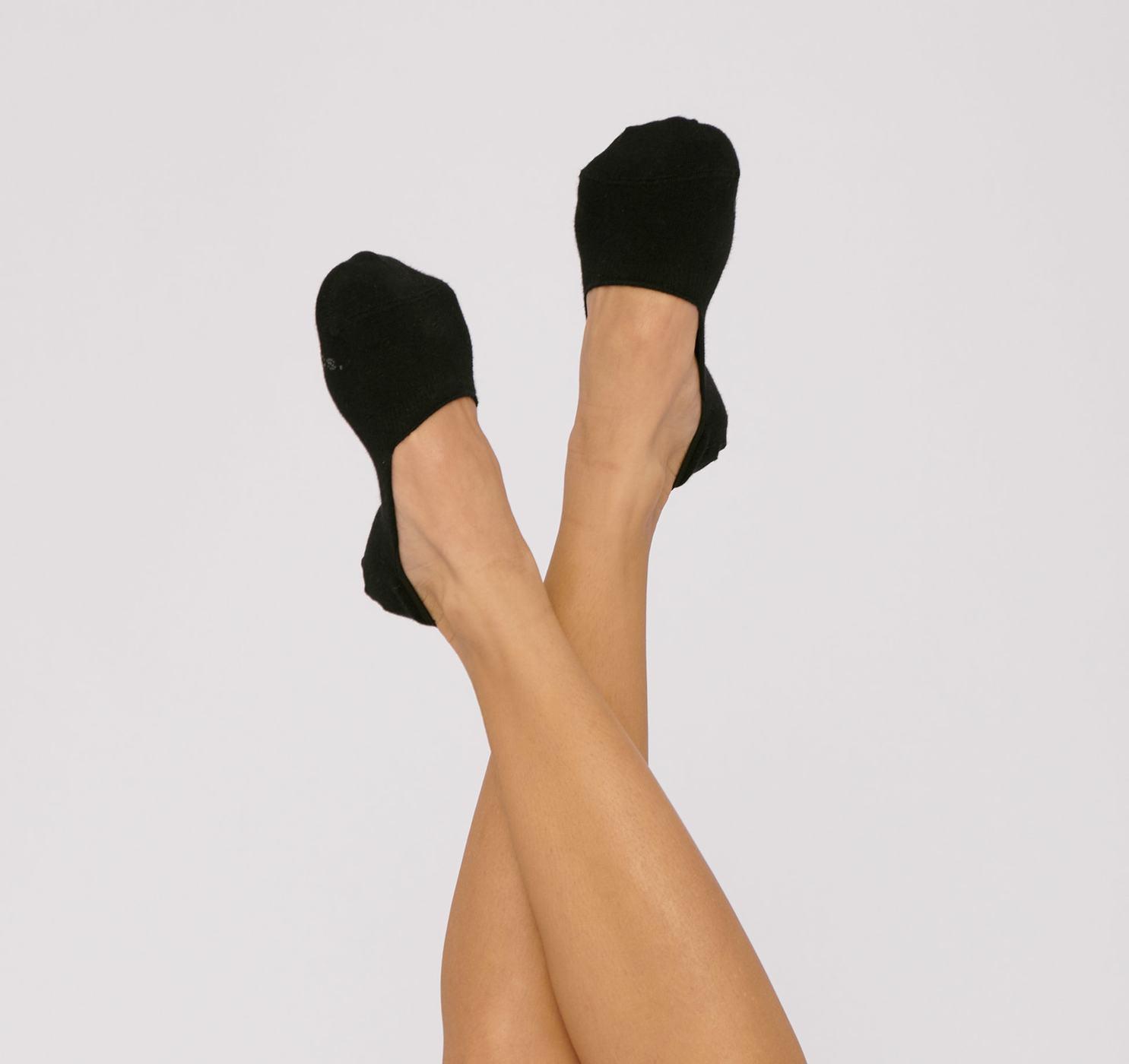 Organic Cotton No-Show Socks 2-pack