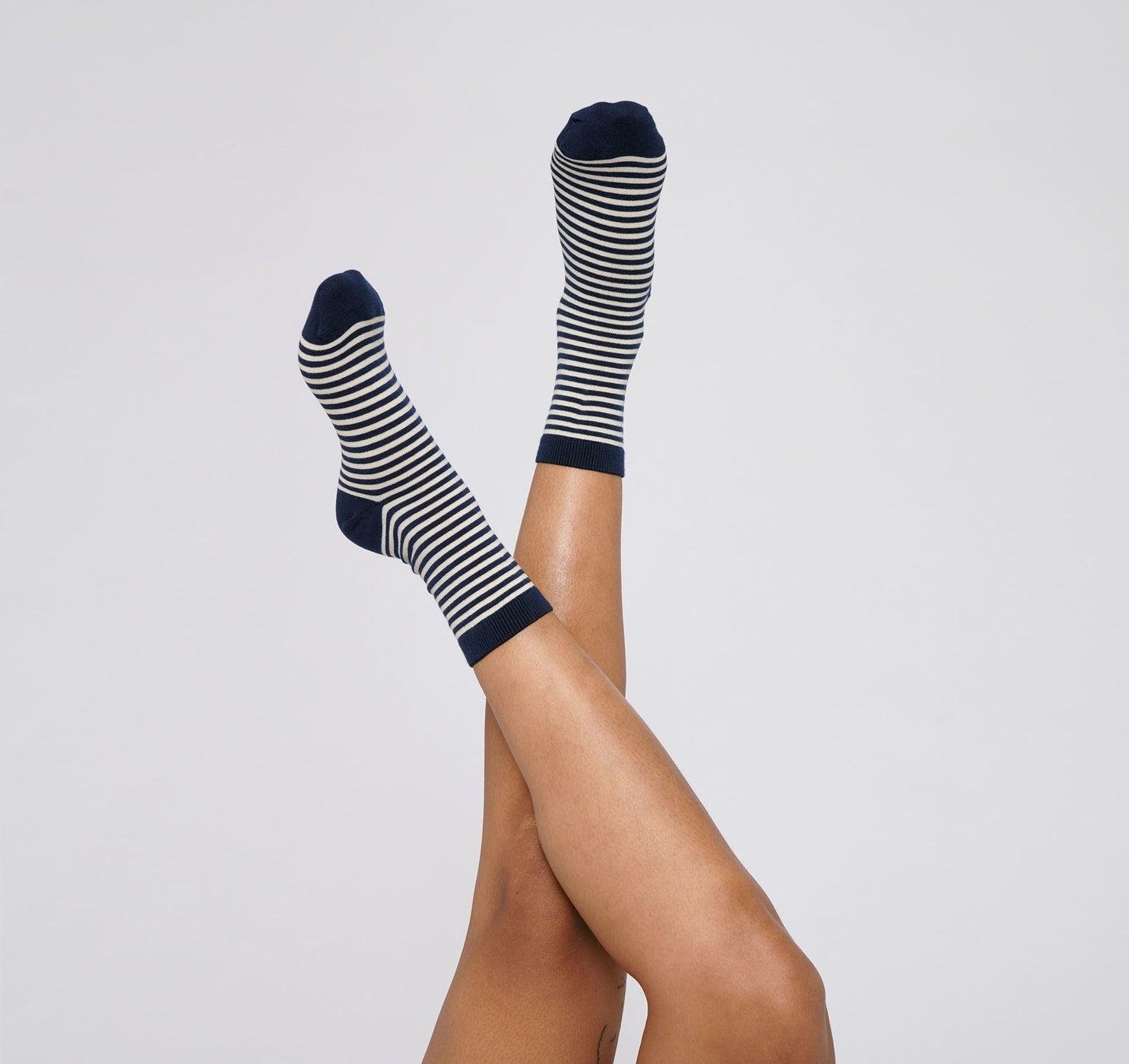 Organic Cotton Color Striped Socks