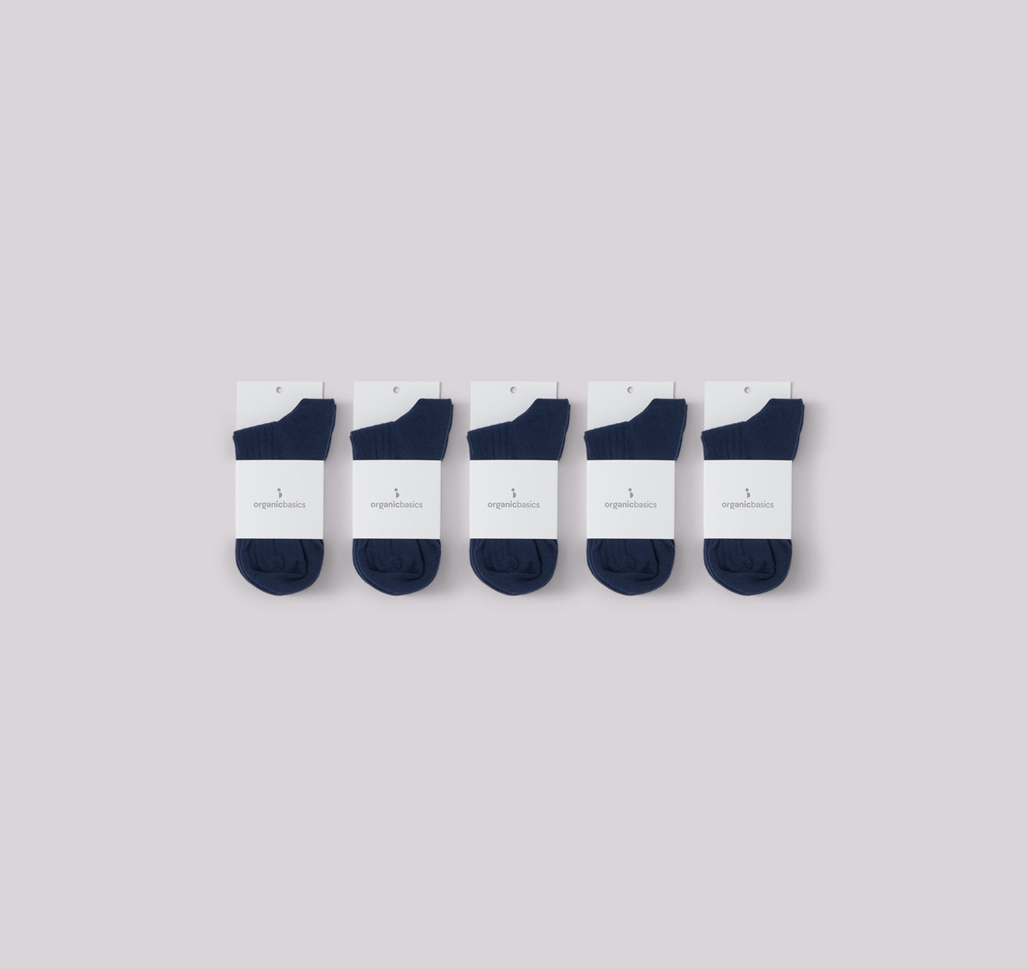 Organic Cotton Rib Socks 10-pack
