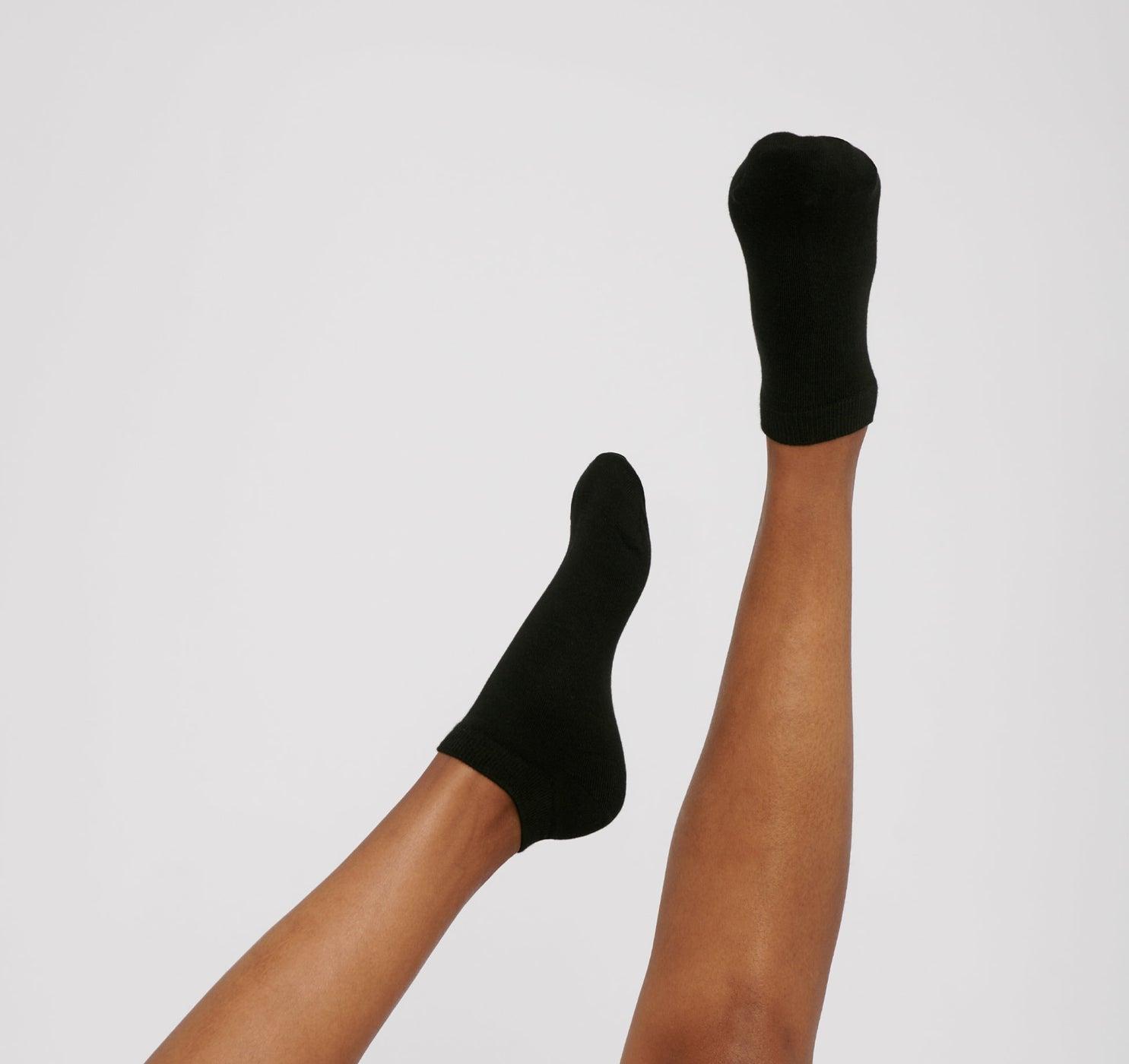 Organic Cotton Ankle Socks 2-Pack