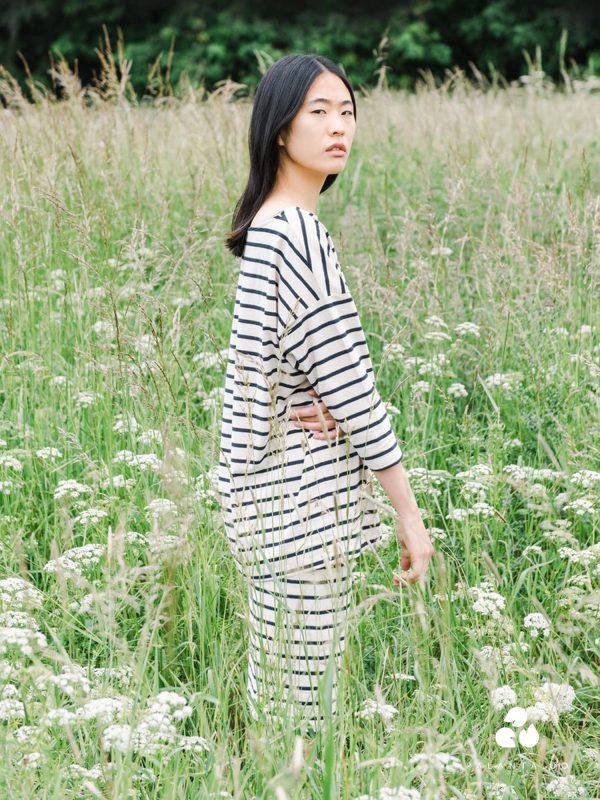 ADDISON-SUE organic cotton skirt in beige