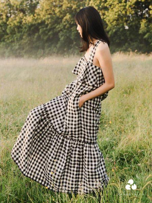 ARYA-GEE Linen Dress