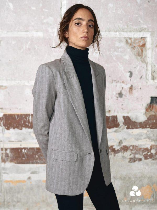 ZUMA HUMO cotton blazer
