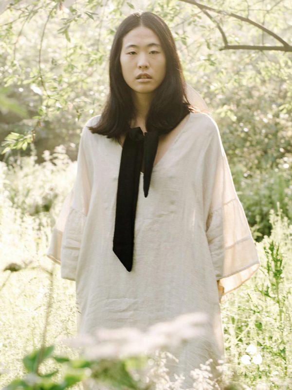 Beaumont Organic BEE-MAY linen dress
