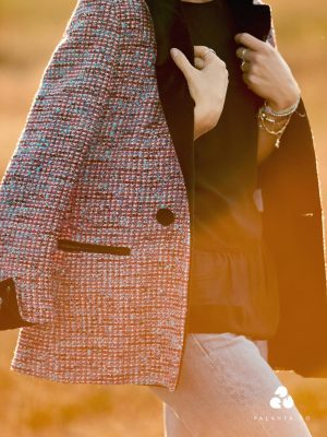 ARLEY organic cotton wrap top
