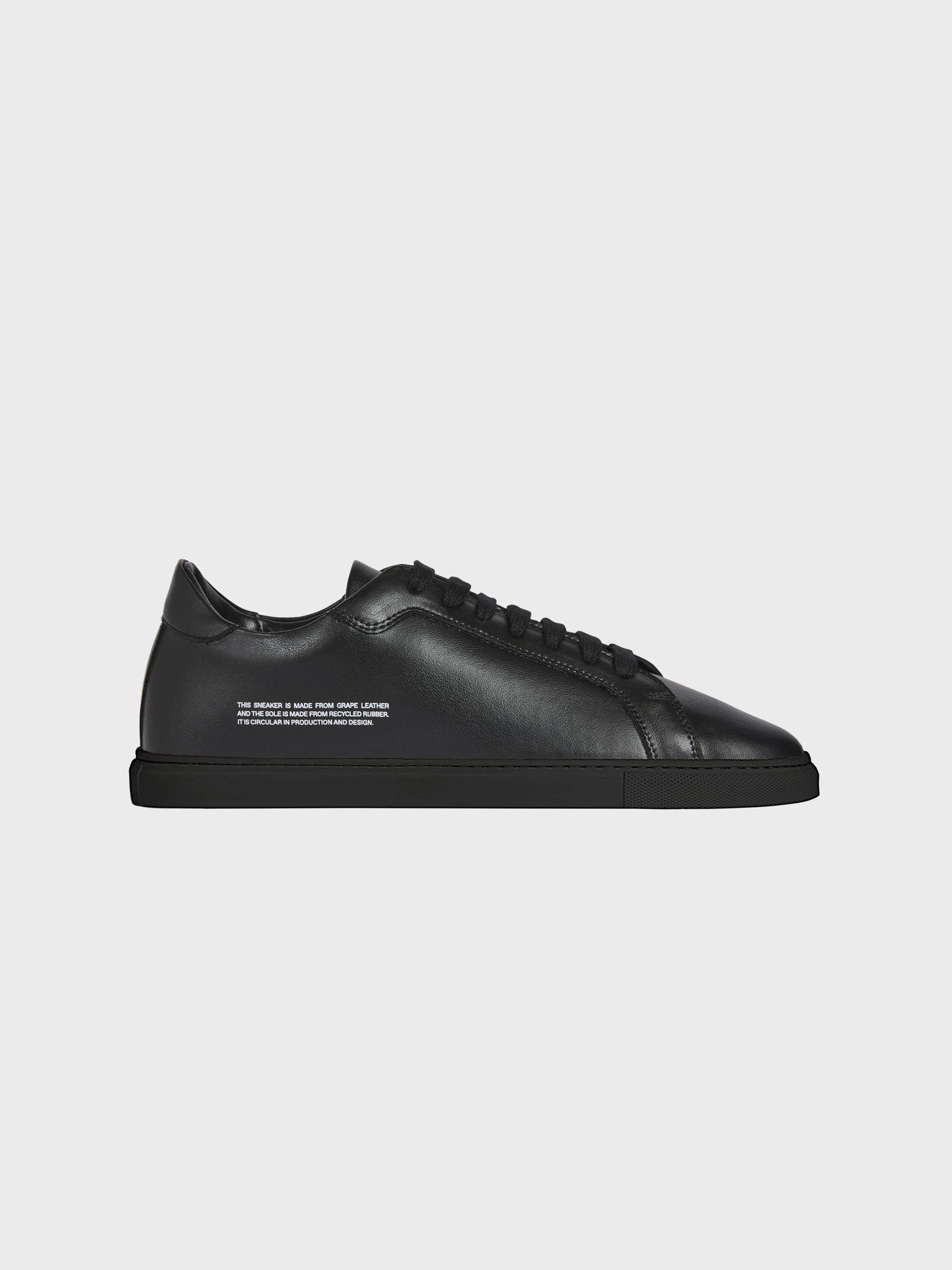 Women's grape leather sneakers