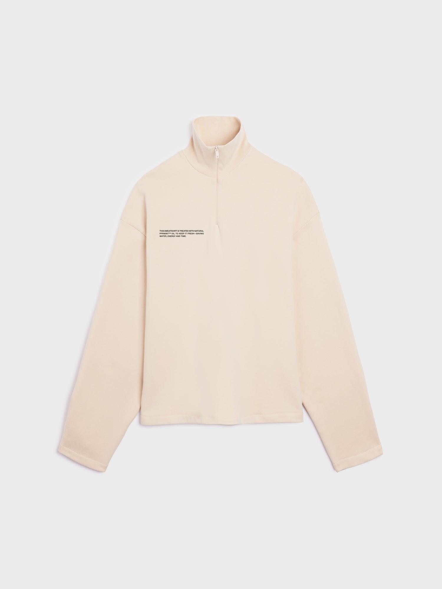 Pangaia Women's PPRMINT™ Half Zip Sweatshirt