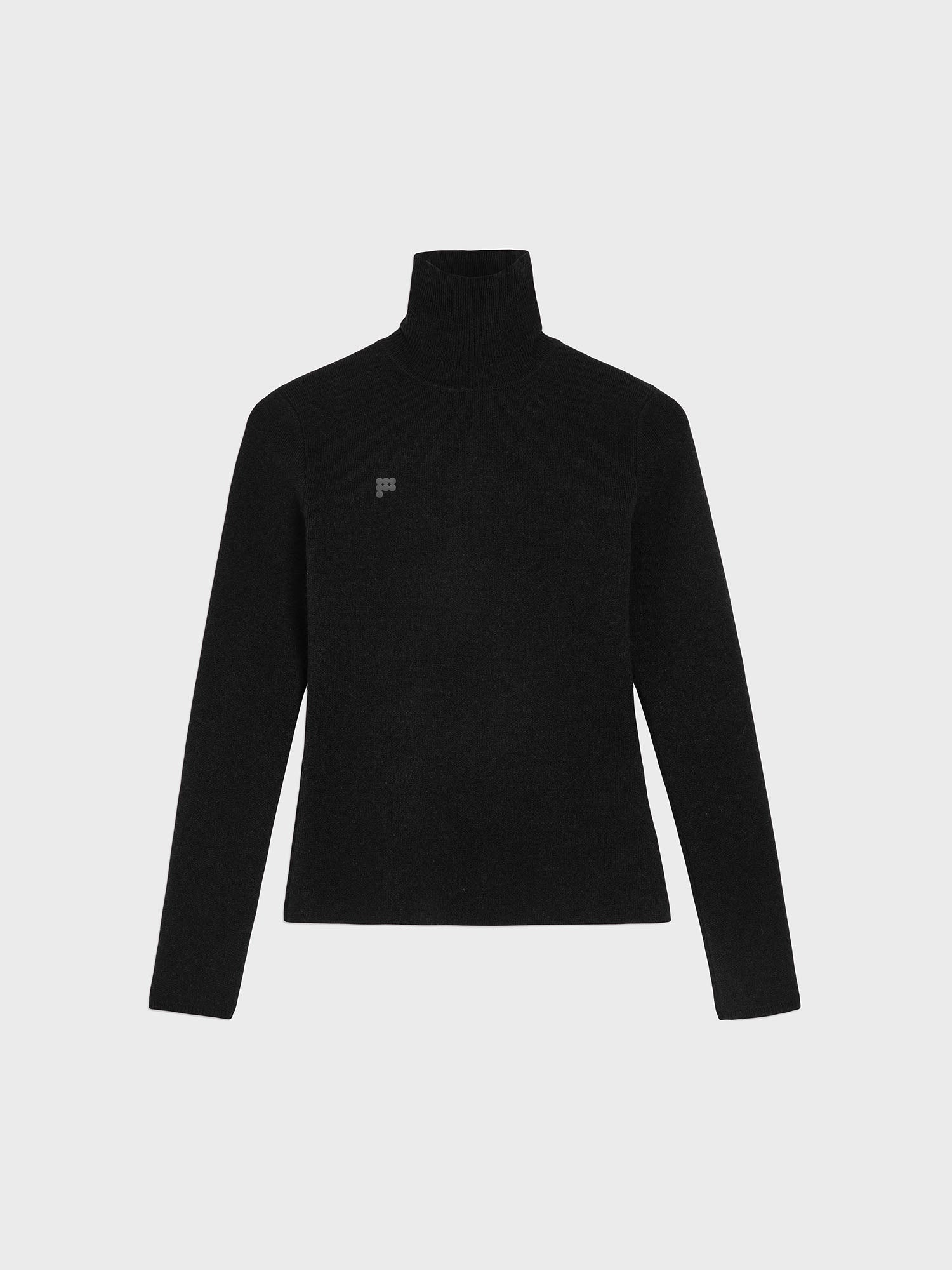 Women's Recycled Cashmere Fitted Turtleneck