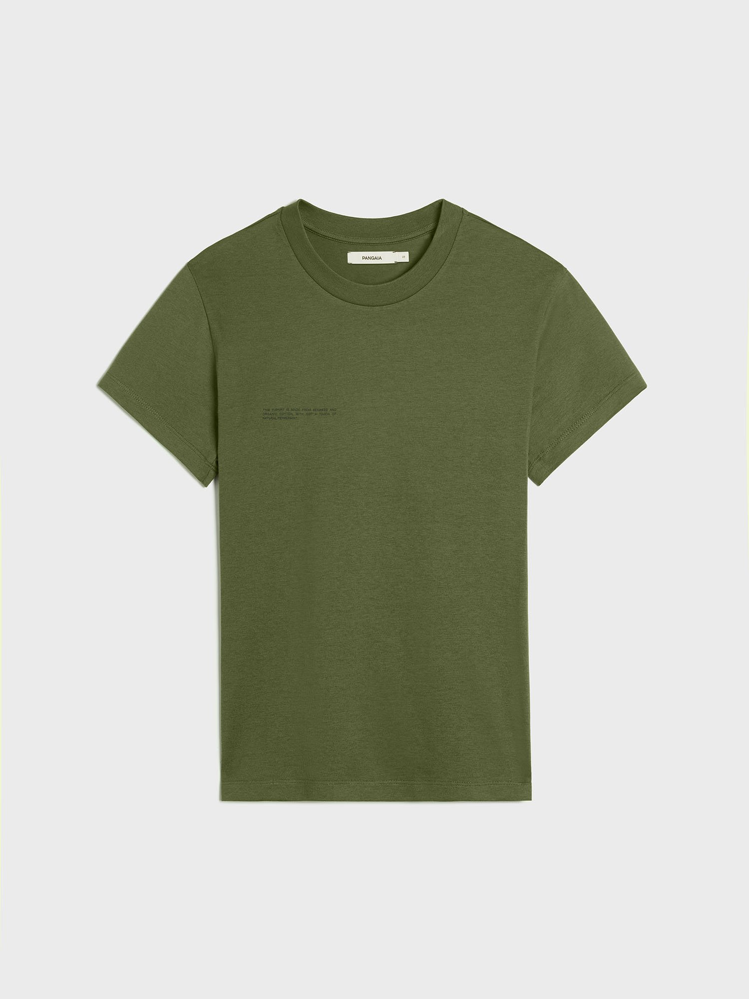 Organic cotton slim fit t-shirt with C-FIBER™