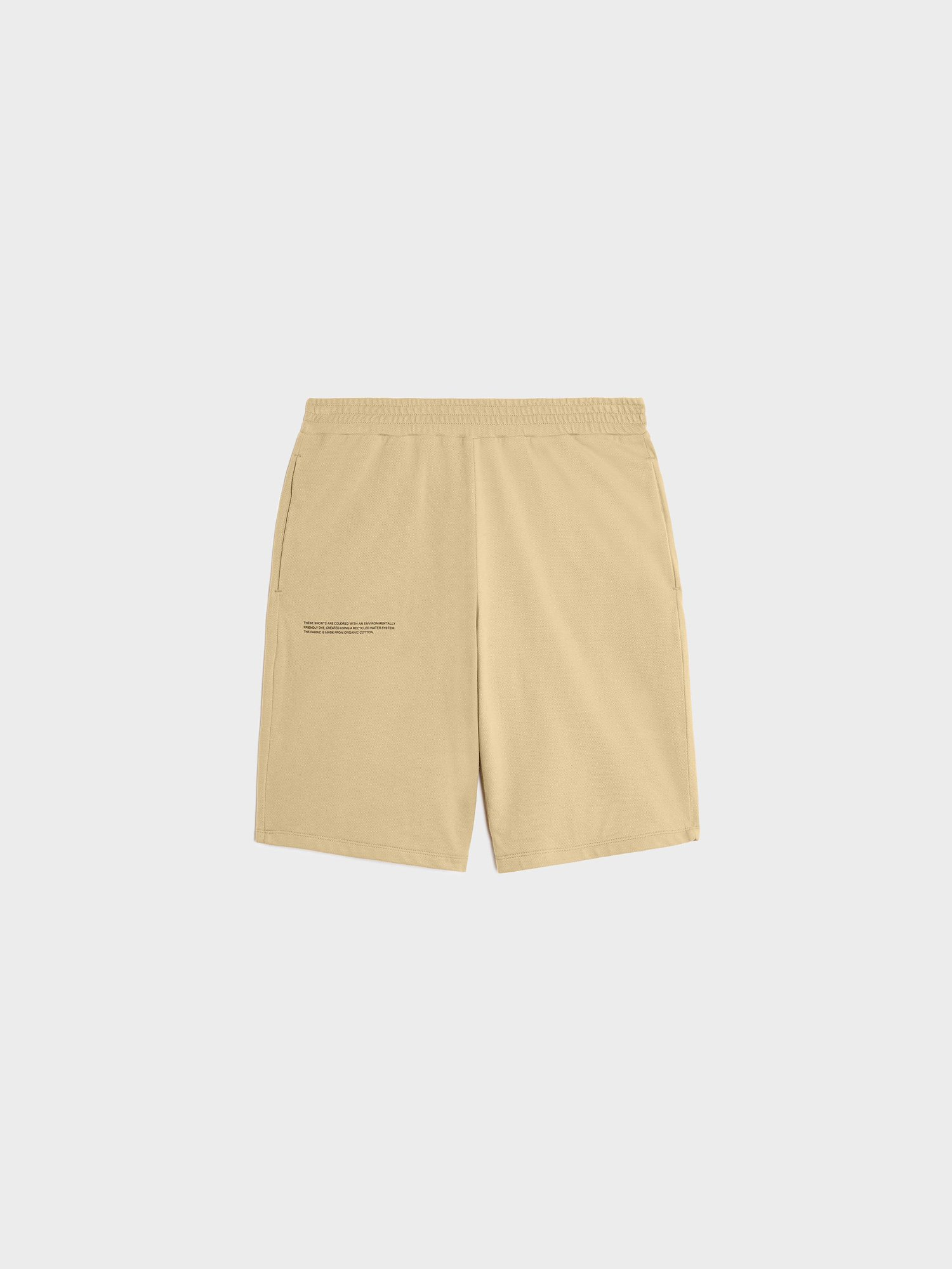 Organic cotton pique shorts
