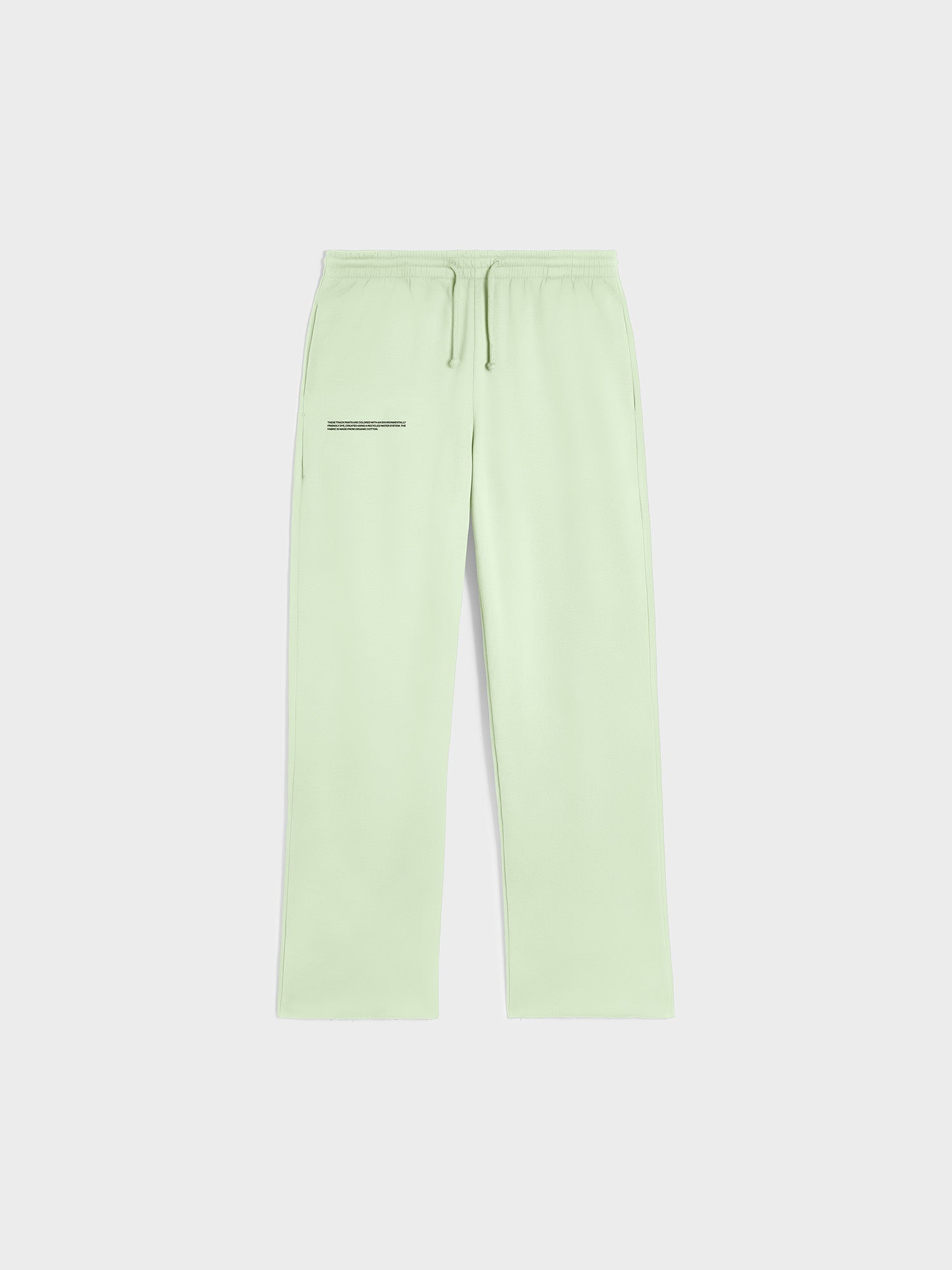 Organic cotton loose track pants
