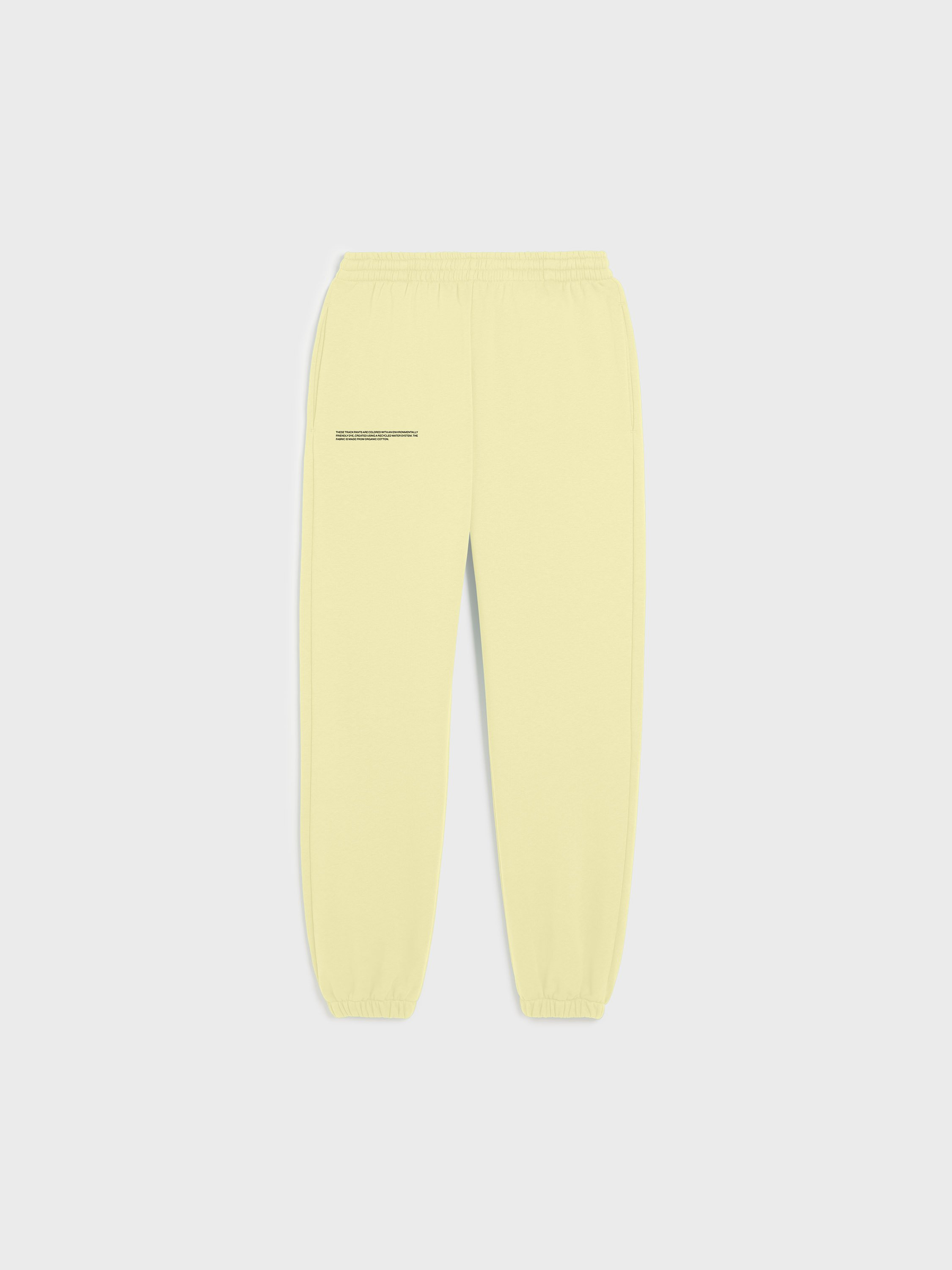 Organic cotton track pants
