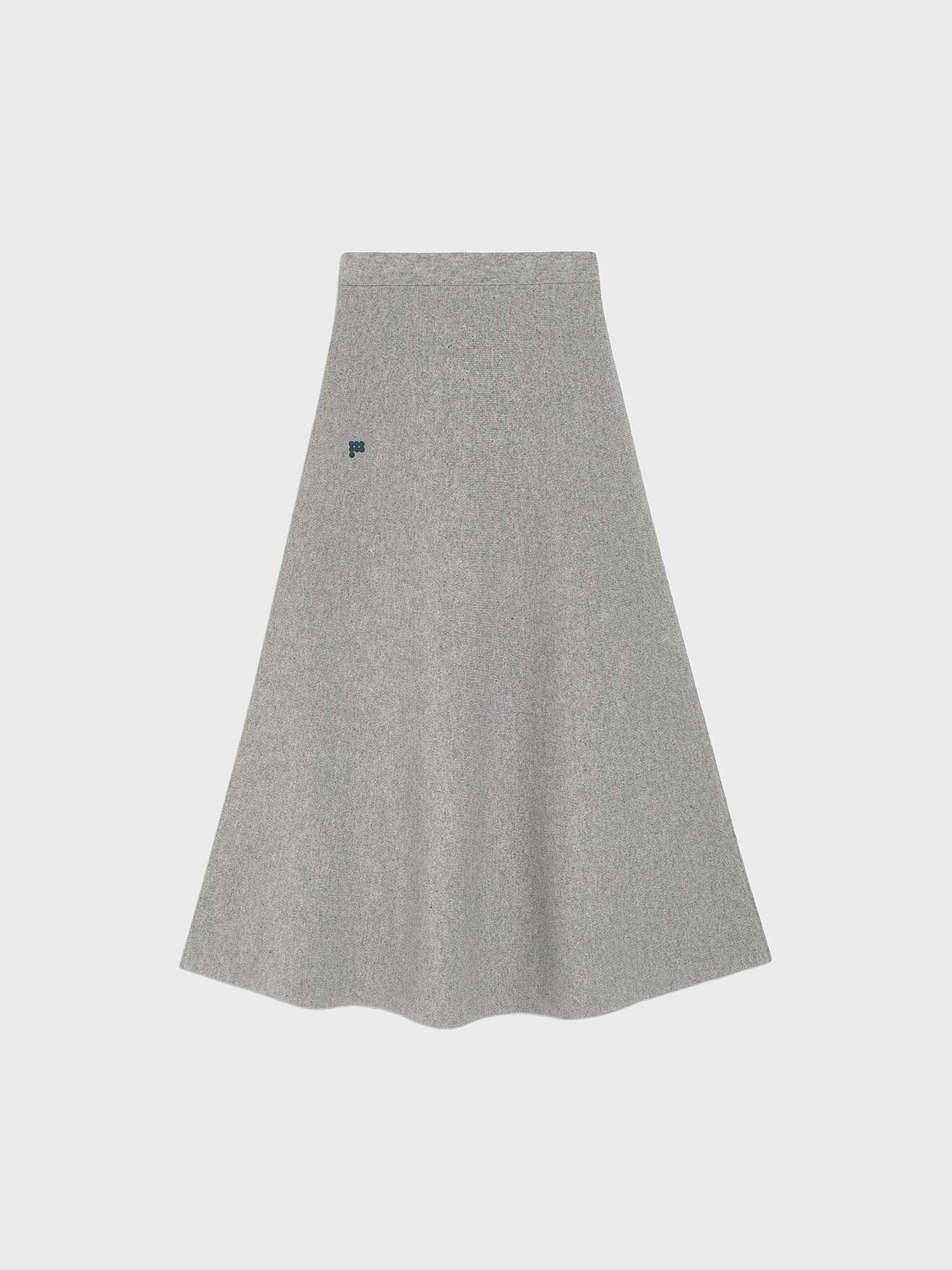 Women's Recycled Cashmere Skirt