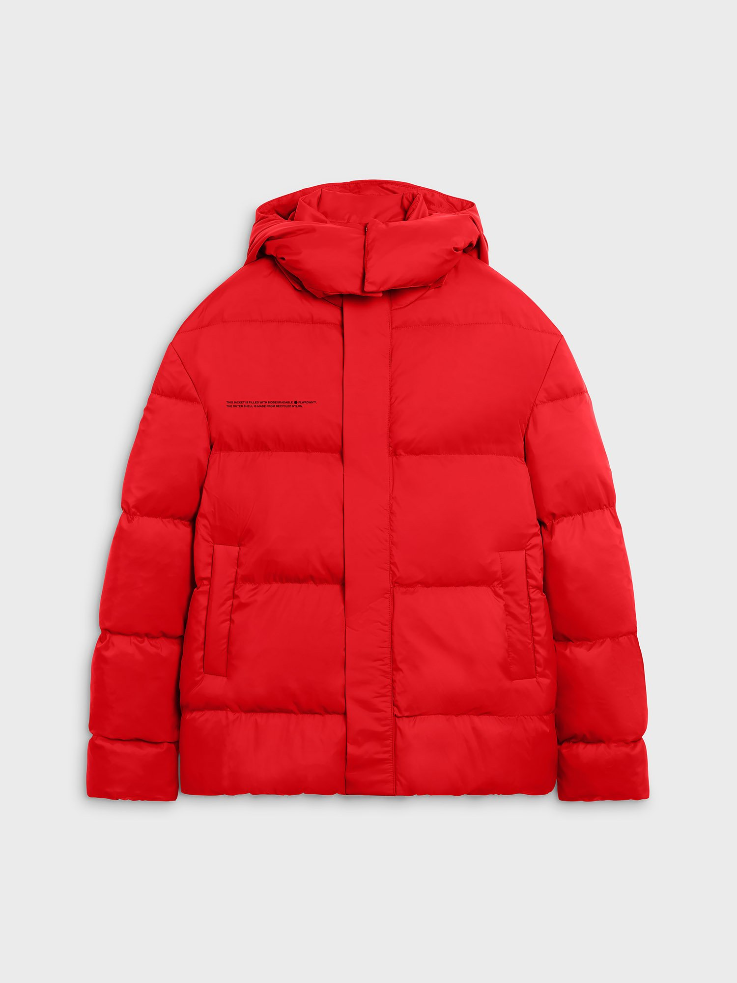 FLWRDWN™ oversized short puffer jacket