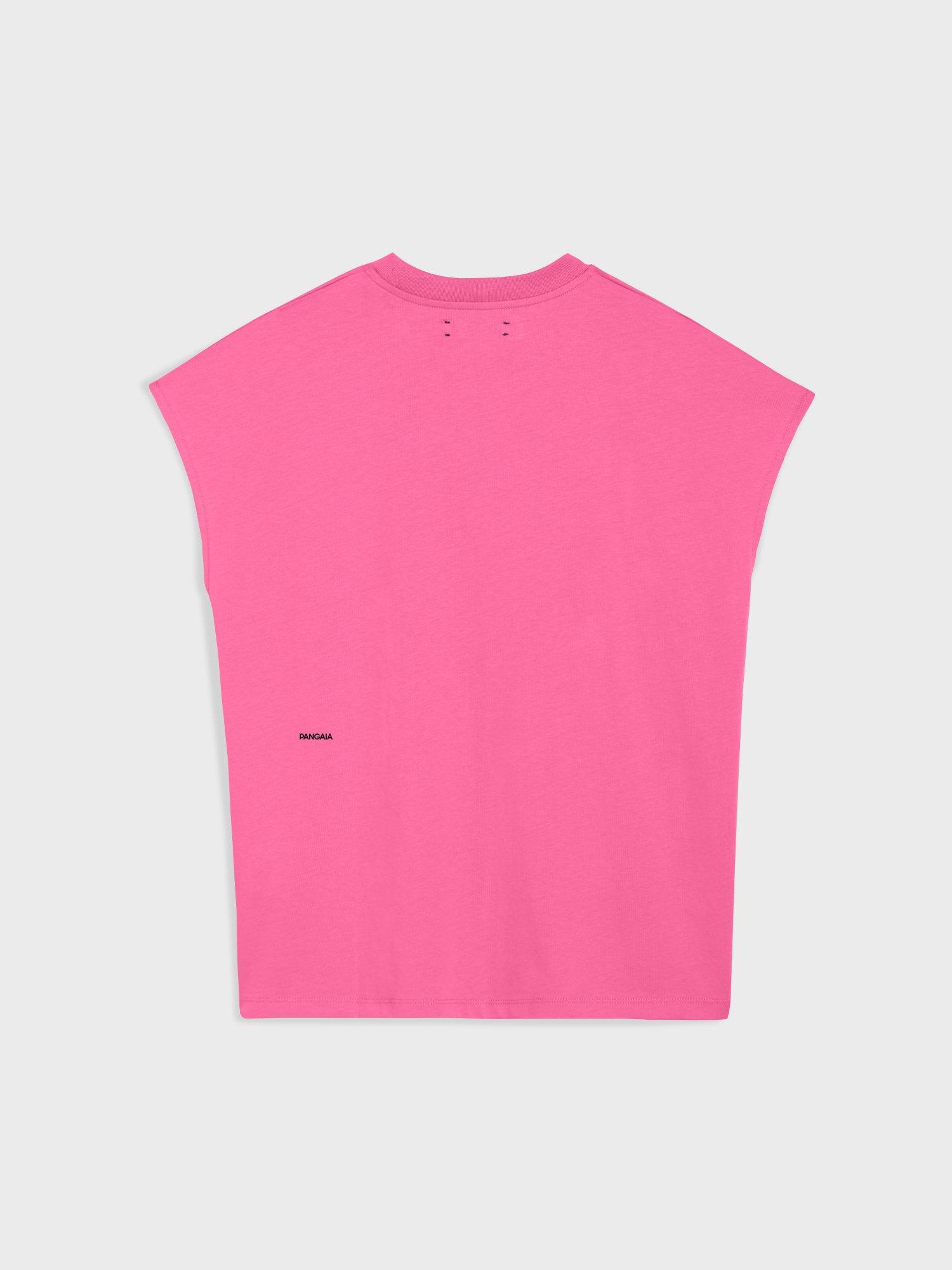 Pangaia PPRMINT™ Organic Cotton Cropped Shoulder T-shirt