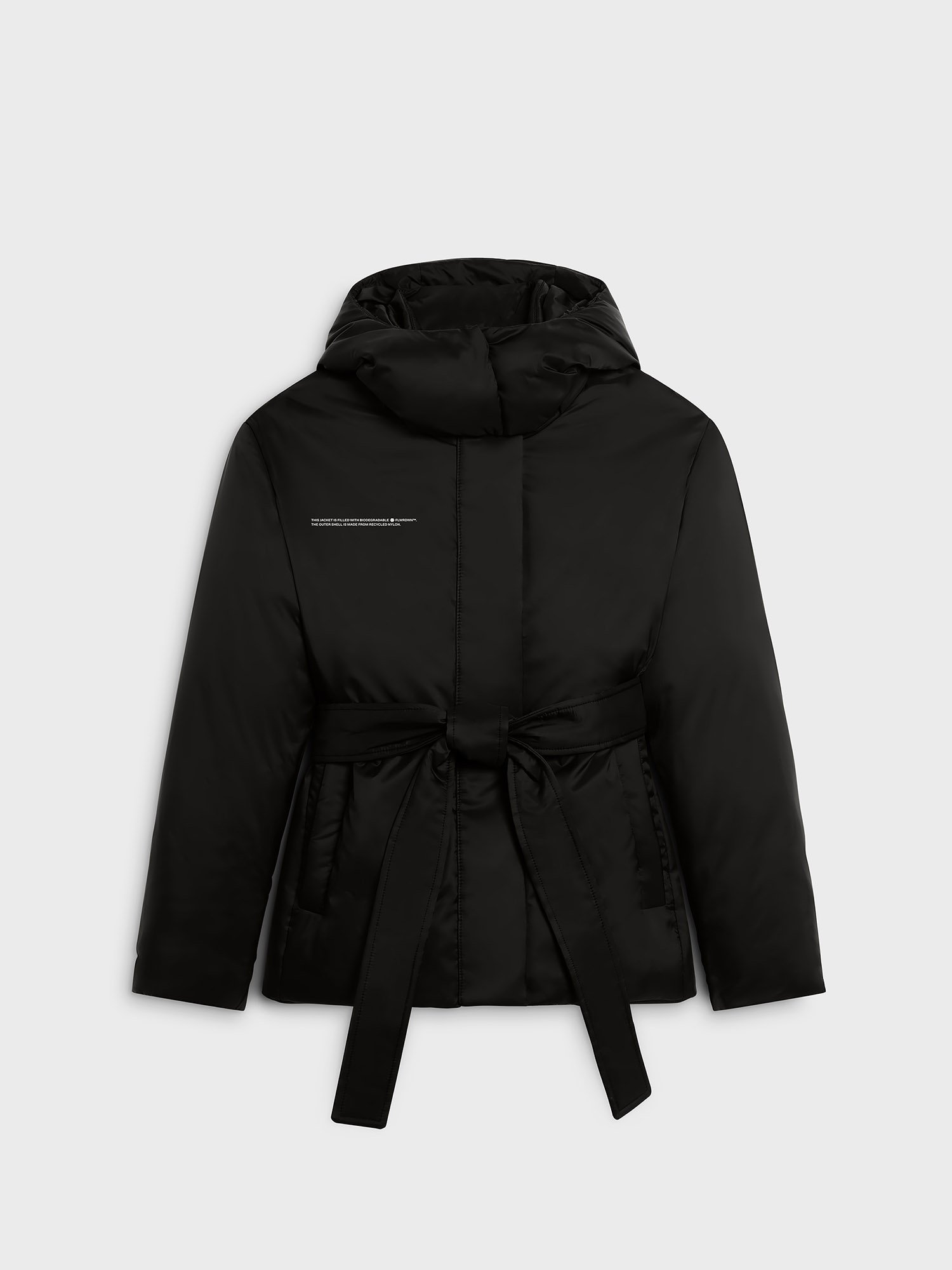 FLWRDWN™ fitted short puffer jacket