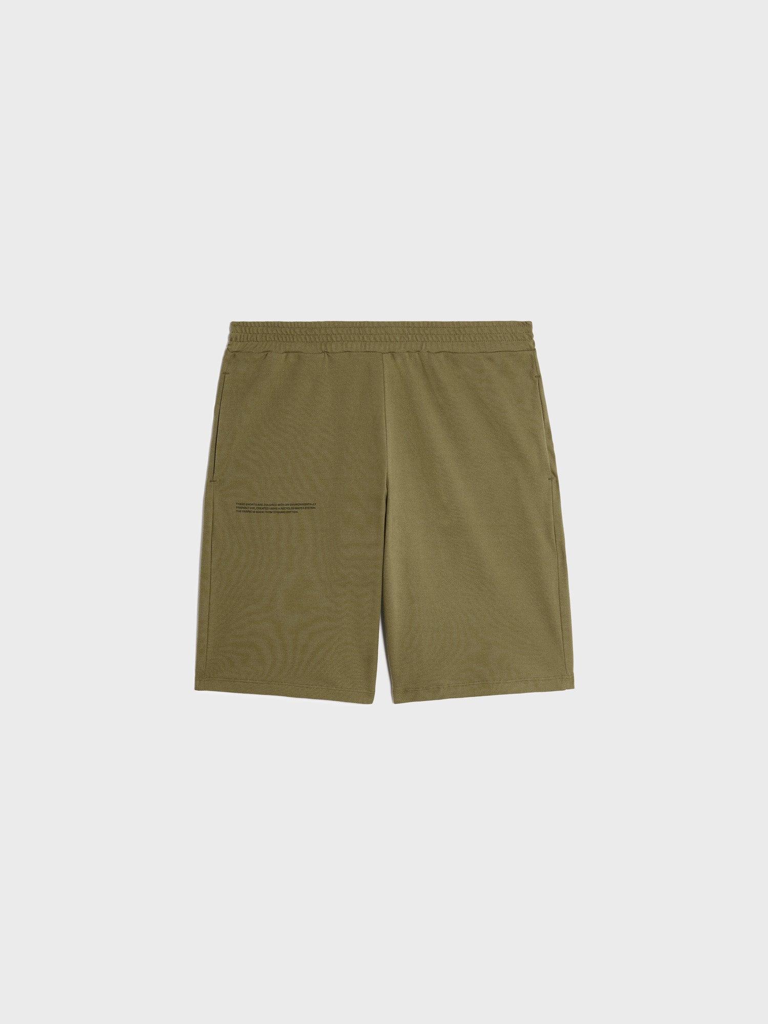 Organic cotton pique shorts