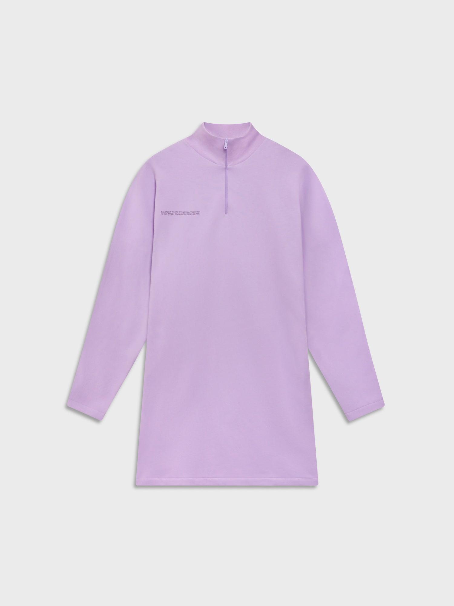 Women's Half-Zip Sweatshirt Dress