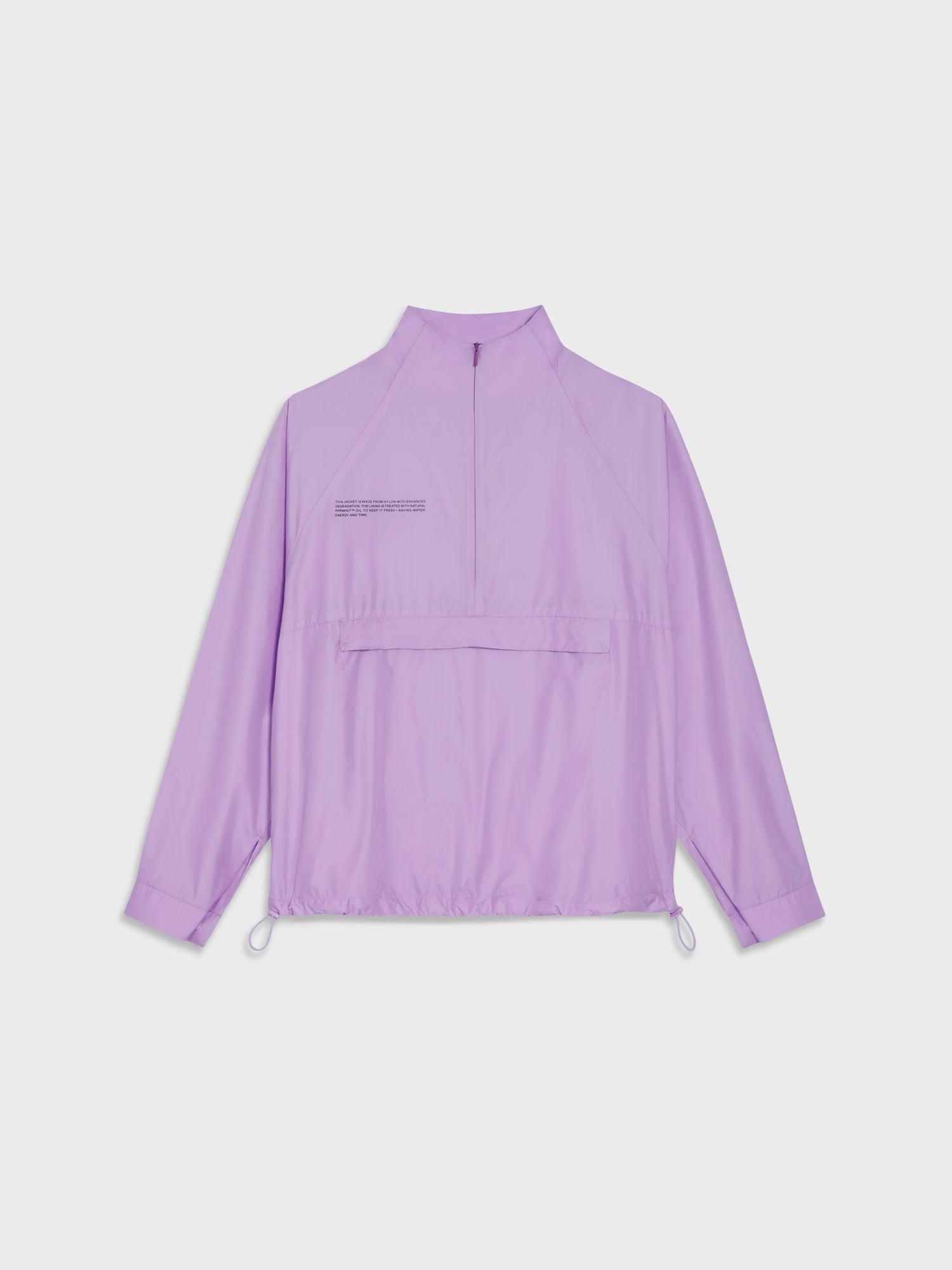 Women's Nylon Half Zip Jacket