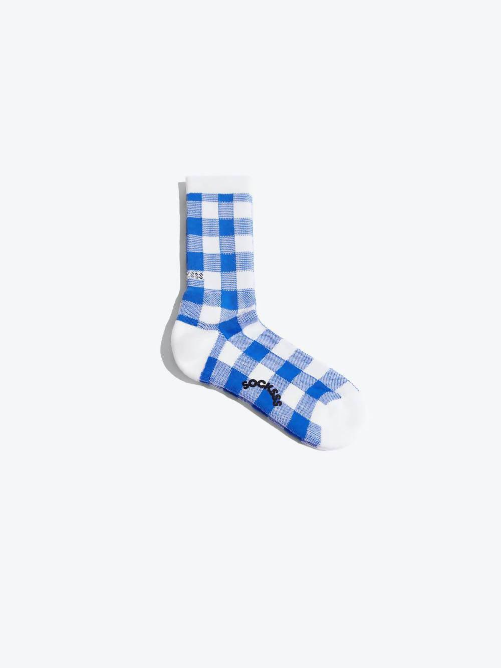 SOCKSSS Blue Augusta Organic Sock