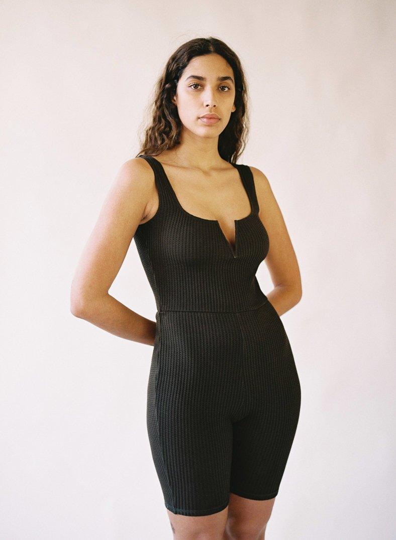 Aniela Parys Organic Black Lychin Unitard