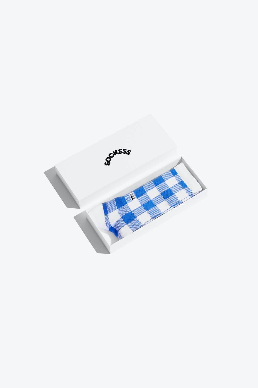 Socksss SOCKSSS Blue Augusta Organic Sock