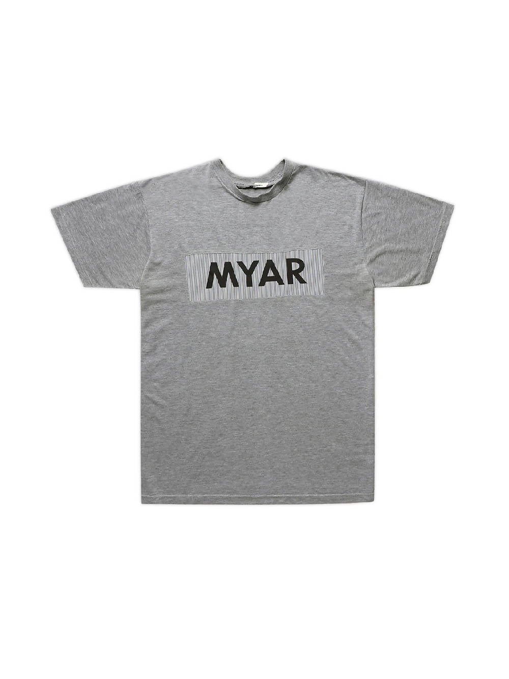 MYAR MY_RECLASSIC Grey Logo T-Shirt