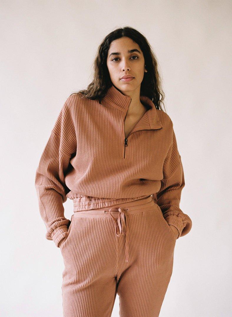 Aniela Parys Organic Terracotta Earth Sweatshirt