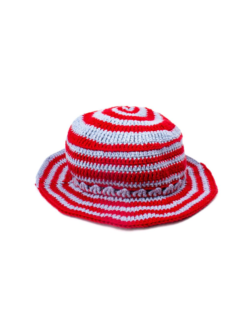 PAR CIELLE Flame Breeze Swirly Sun Hat
