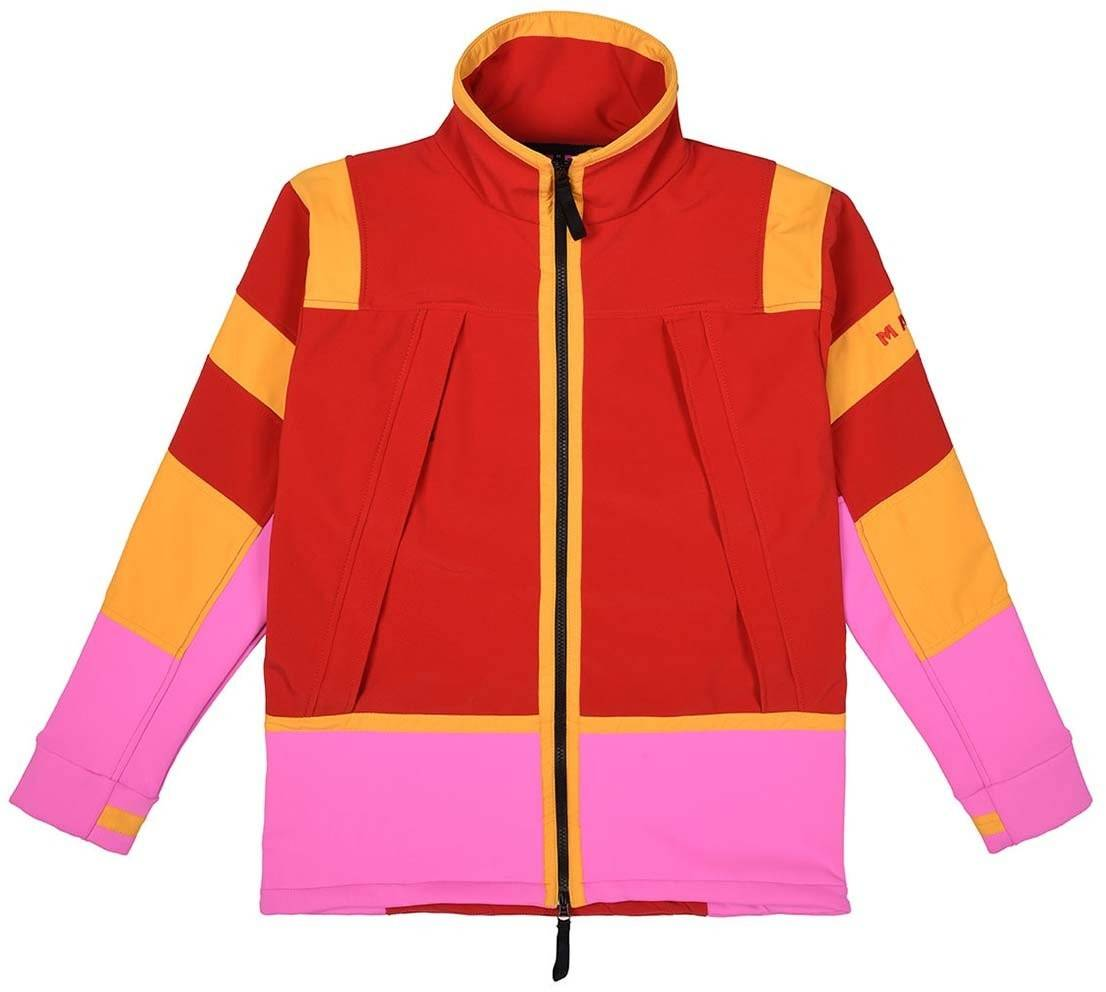 MAKE Red Pink Yellow Leopold Jacket