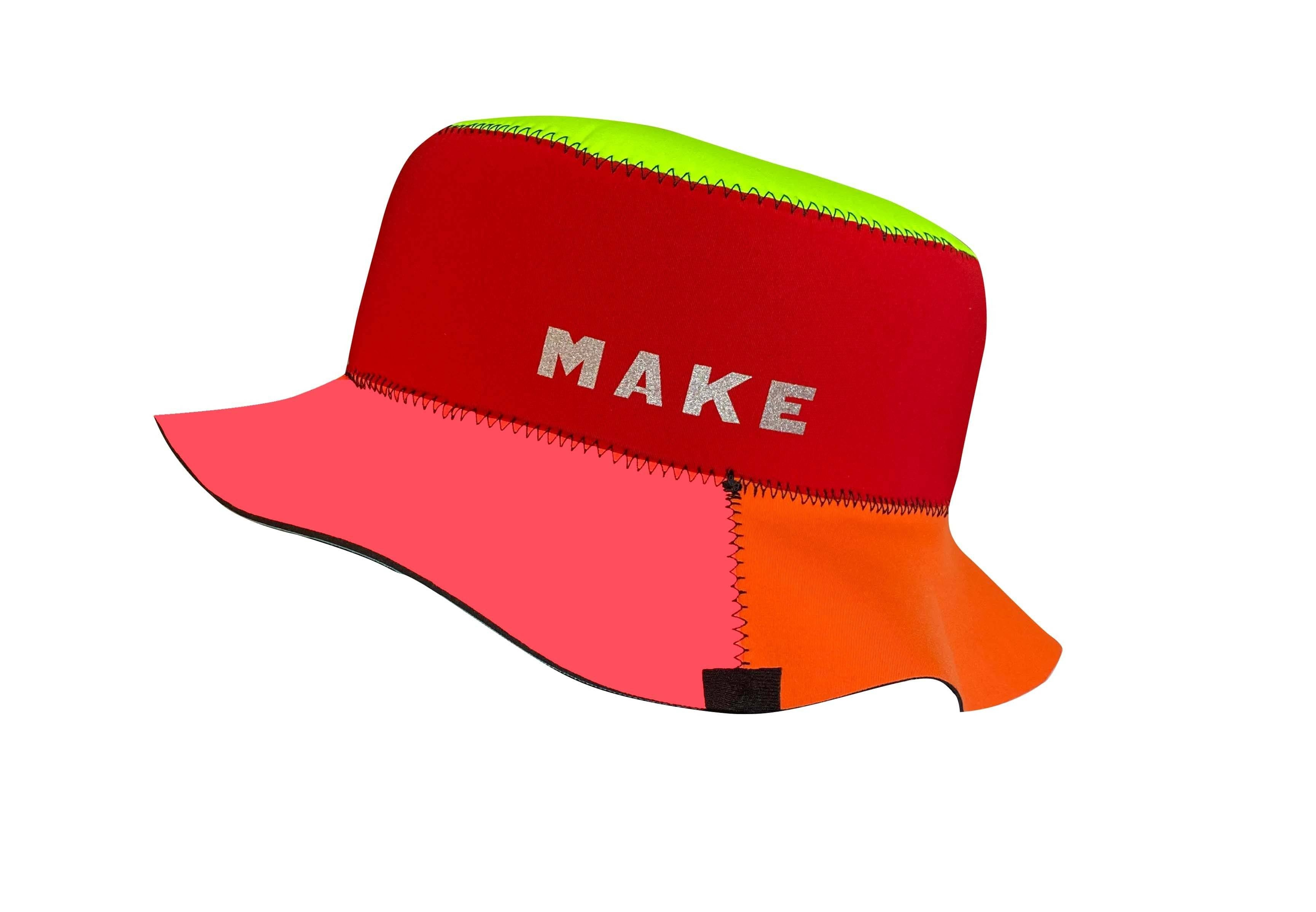 MAKE No Limit Reversible Neoprene Bucket Hats